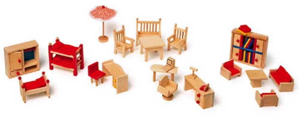 Puppenhaus Zubehör Garten Büro Kinderzimmer Schreib Und