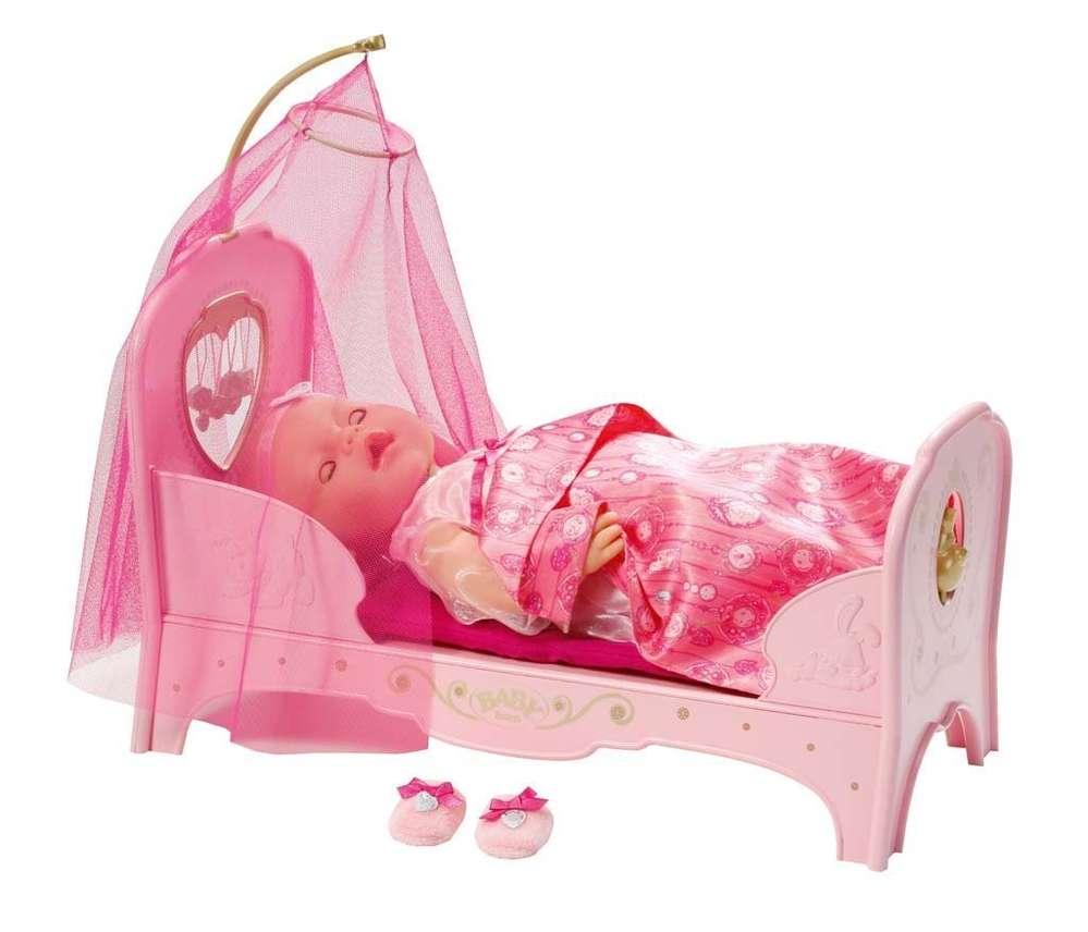 Baby Born Interactive Prinzessinnen Bett Schreib Und Spielwaren